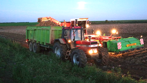 Covagri aardappeloogst 2015