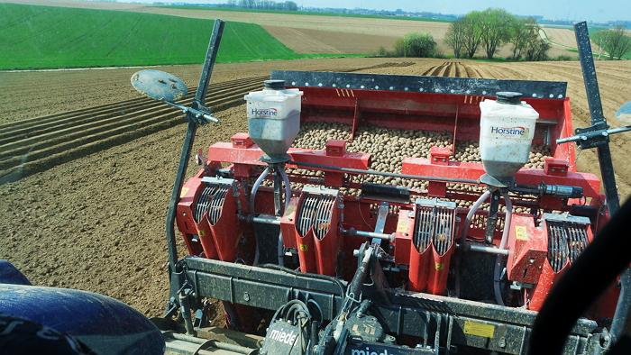 Covagri aardappelen planten