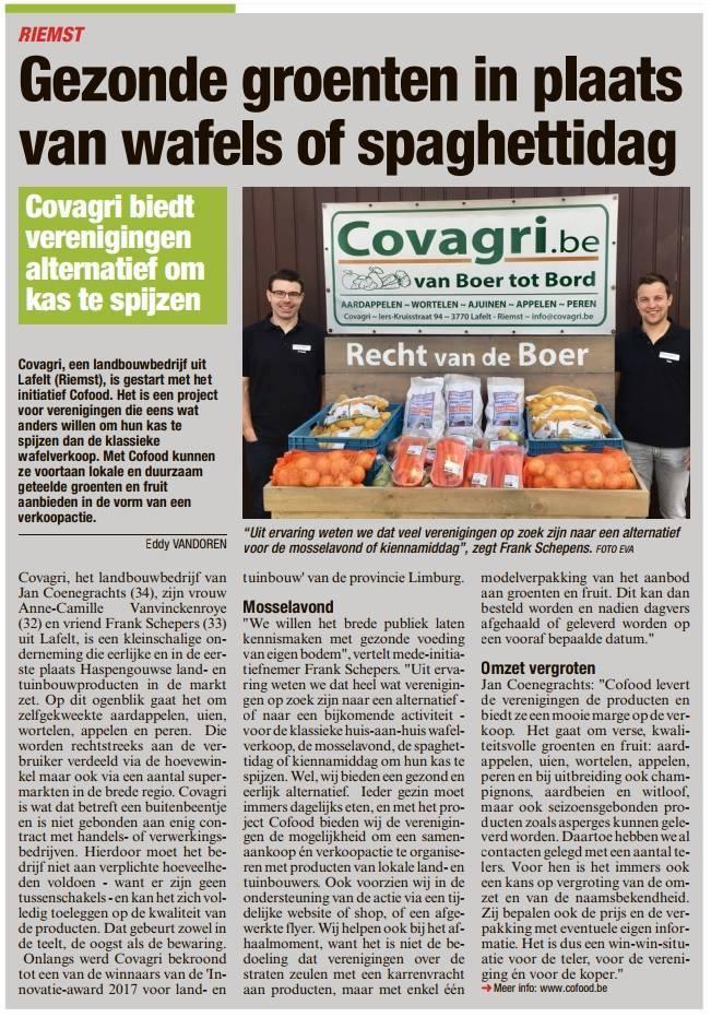 CoFood Het Belang van Limburg